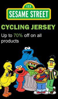 Sesame Street Cycling Apparel Unique Cycling Jerseys e437184b7
