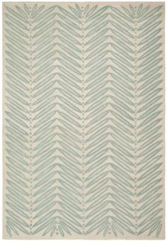 Safavieh Martha Stewart MSR3612C-Chevron Leaf Blue Fir Rug