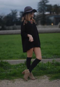 20 Fall Fashion Trends 2013 not sure about thigh high socks and ankle boots!
