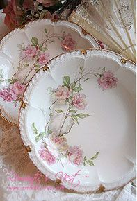 Haviland Limoges: Baltimore Rose pattern