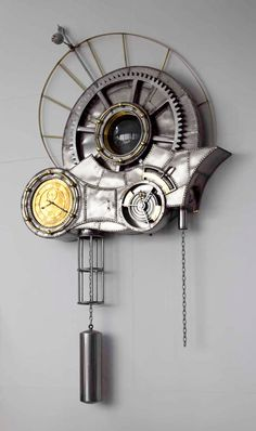 Image result for steampunk wall clock