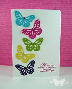 Martha Stewart butterfly punch
