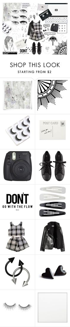 """""""Untitled #112"""" by m-ade-line ❤ liked on Polyvore featuring Designers Guild, Eyeko, Fujifilm, H&M, Old Navy, Forever 21, INDIE HAIR, CO, tarte and By Lassen"""