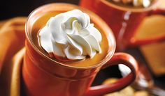 Top off the perfect Thanksgiving with this decadent pumpkin hot chocolate.