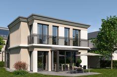 Neubau in München-Allach: Architektonisch anspruchsvolle Doppelhaushälften sowie ein Einfamilienhaus an der Allacher Lohe Details: http://www.riedel-immobilien.de/objekt/3462