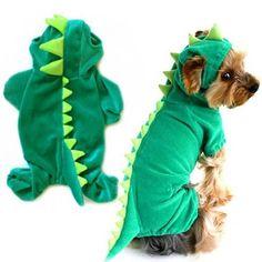 Dragon Pet Costume - Pets n Garb Puppy Costume, Cute Dinosaur, Dinosaur Dress, Dragon Pet, Dog Halloween Costumes, Pet Costumes, Pet Puppy, Pet Dogs, Dinosaurs