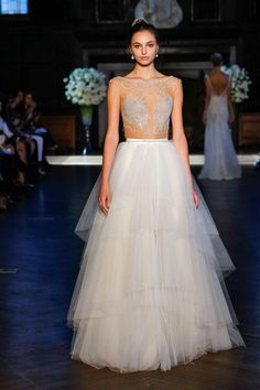 Alon Livné White 2016 wedding gown | fabmood.com #weddingdresses: