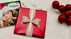Geschenk verpacken zu Weihnachten - die besondere Schleife