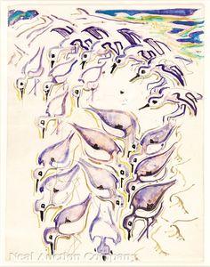 Shore Birds by Walter Anderson