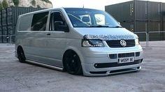 Low and slow Car Camper, Camper Van, Campers, Vw Transporter Van, Vw T5 Campervan, Vw R32, Air Ride, Van Camping, Busse