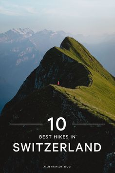 Planning a trip to Switzerland soon? Check out this list of the 10 best hikes you don't want to miss while you're here. Poland Travel, France Travel, Germany Travel, Go Hiking, Hiking Guide, Destinations, Europe Travel Guide, Best Hikes, Future Travel