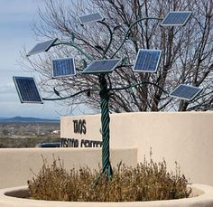 Solar Tree, Taos Visitor Center, New Mexico
