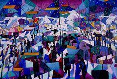 The Boulevard by Gino Severini