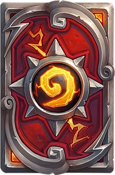 Card Back: Hearthstone Championship Tour Artist: Blizzard Entertainment