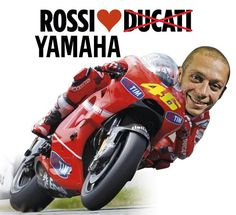 Ducati's loss is Yamaha's gain. Though rumors to this effect were in the pipeline, it is now officially declared that Valentino Rossi, the champion Italian motorcycle racer, has signed with Yamaha MotoGP. Rossi will represent the Yamaha team at the 2013 and 2014 MotoGP season. Rossi's partnership with Yamaha goes back a long time which has seen the young racer successful in four of a total of seven MotoGP titles with Yamaha.