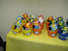 Rio gift bags - My son's Rio party turned into more of an Angry Bird party