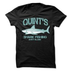 QUINTS SHARK FISHING AMITY ISLAND T-SHIRT T-SHIRTS, HOODIES, SWEATSHIRT (19$ ==► Shopping Now)