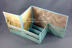 addINKtive designs: Pop-Up, Z-Fold, Card in a Box I'm thinking make it a barn and add horses. Z Cards, Step Cards, Fun Fold Cards, Easel Cards, Folded Cards, Cool Cards, Stampin Up Cards, Box Cards Tutorial, Pop Up Box Cards