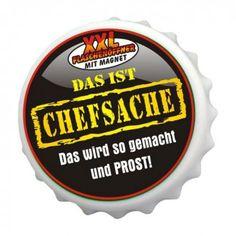 """Flaschenöffner """"Chefsache"""" - Gwundernase.ch"""