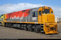 RailPictures.Net Photo: 5097 Kiwi Rail DXB at Hawera, New Zealand by Andrew Hamblyn
