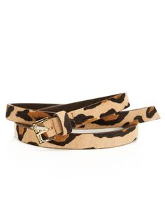 Leopard belt!