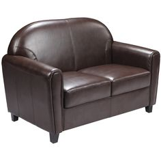 The Presley Cocoa Reclining Loveseat W Console From Ashley