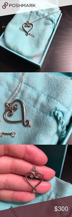 Beautiful Paloma Picasso heart necklace Currently no longer available! Beautiful piece!! Willing to negotiate but is no longer available! Tiffany & Co. Jewelry Necklaces