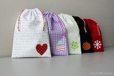 Drawstring Treat Bag   AllFreeSewing.com