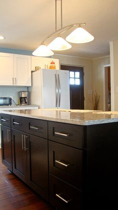 Fresh Gramercy Midnight Kitchen Cabinets