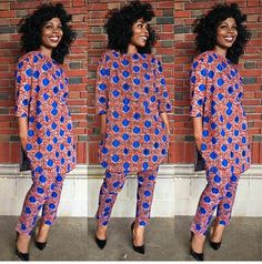 6 Pant Trousers & Jumpsuit In Ankara Styles. – A Million Styles - - Hello dearies, do you know you can use your ankara to sown different styles? Do you know ankara is not just restricted to gown, skirt and blouse? African Attire, African Wear, African Dress, African Style, Ankara Styles For Men, Latest Ankara Styles, African Print Fashion, African Fashion Dresses, Ankara Fashion