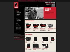 Chrome Bag website