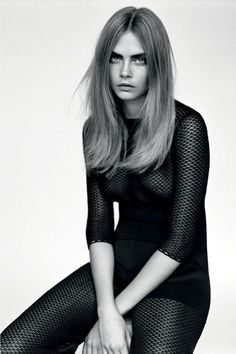 Cara Delevingne by Alasdair McLellan for Industrie Magazine No.6 | The Fashionography
