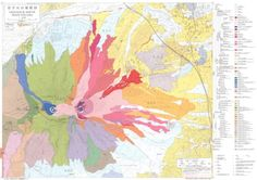 Japanese Volcano Maps