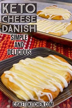 keto dessert This weeks recipe is a Keto Cheese Danish. These are a delicious keto low carb tribute to the classic Cheese Danish that many of us loved before Keto. This recipe does take a Low Carb Sweets, Low Carb Desserts, Low Carb Recipes, Sugar Free Desserts, Health Desserts, Oreo Dessert, Dessert Recipes, Snack Recipes, Keto Desert Recipes