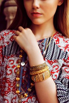 #Print on print with #gold details