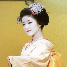 芸妓さんと舞妓さんのブログ (August 2015: maiko Katsuna by @asumo1120 on...)