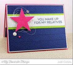 Friends like Us, Pierced Star STAX Die-namics, Vertical Stitched Strips Die-namics - Jodi Collins #mftstamps