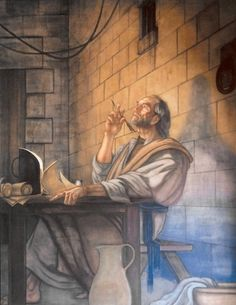 the Apostle Paul, writing while in prison