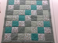 Babyquilt with Walt Disney bunny Walt Disney, Quilting, Bunny, Blanket, Bed, Home, House, Patchwork, Rabbits