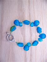 Blue and Green large tear drops  $20.00   http://gottahaveit.vpweb.com/New-Products--.html