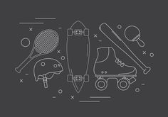 Free Sport Vector Icons -   Collection of minimal thin line style sport elements. Hope you can use it in your next project.  - https://www.welovesolo.com/free-sport-vector-icons/?utm_source=PN&utm_medium=weloveso80%40gmail.com&utm_campaign=SNAP%2Bfrom%2BWeLoveSoLo