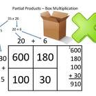 Save $2 and order this Box Method Multiplication multi-pack which includes:  Box Multiplication Powerpoint Presentation ($2)  Box Multiplication 12...
