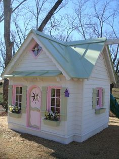 Decorating Playhouses Design, Pictures, Remodel, Decor and Ideas - page 4