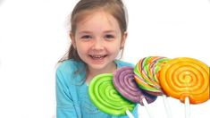 Johny Johny Yes Mama Learn Your Colours With Candy Giant Lollipops Child.