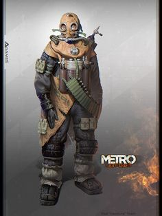 Character concept from #MetroLastLight by #VladTkach