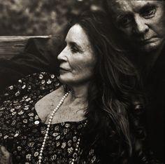 June Carter and Johnny Cash (annie liebowitz)
