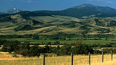 Jefferson River Valley near Whitehall, Montana...(photo by Travel Montana) I lived in Whitehall, MT