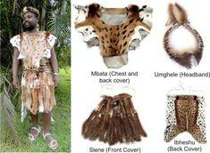 Traditional Zulu Mans Outfit African Shirts, African Men, African Fashion Dresses, African Dress, Zulu Traditional Wedding, Zulu Warrior, Warrior Outfit, Headband Men, World Cultures