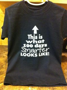 This Is What 100 Days Smarter Looks Like TShirt by MissyLuLus, $15.00