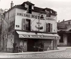 La rue de Bagnolet en 1947. Une photo de Pierre Jahan.